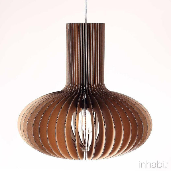 Gibson Natural Sculptural Pendant Light - Corrulight Ceiling Lighting - 1 - Inhabit
