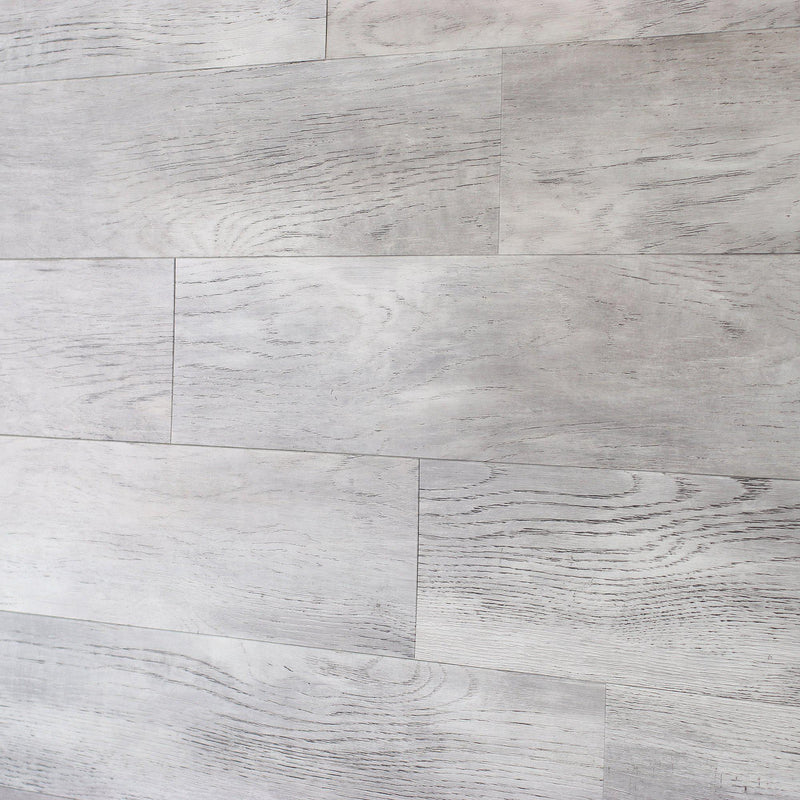 Planks - Gray White Oak Look Peel and Stick Wall Planks - 6 - Inhabit