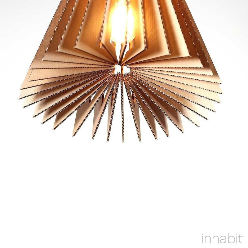 Corrulight Ceiling Lighting - Griffin Natural Sculptural Pendant Light - 5 - Inhabit