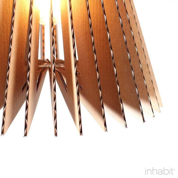Griffin Natural Sculptural Pendant Light - Corrulight Ceiling Lighting - 2 - Inhabit