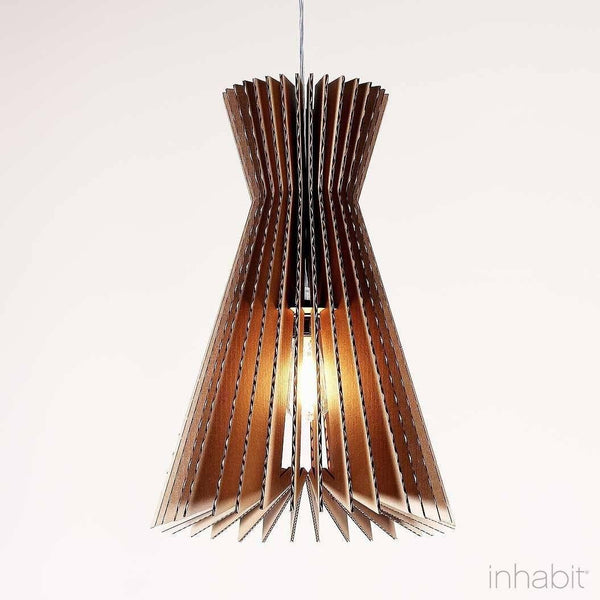 Griffin Natural Sculptural Pendant Light - Corrulight Ceiling Lighting - 1 - Inhabit