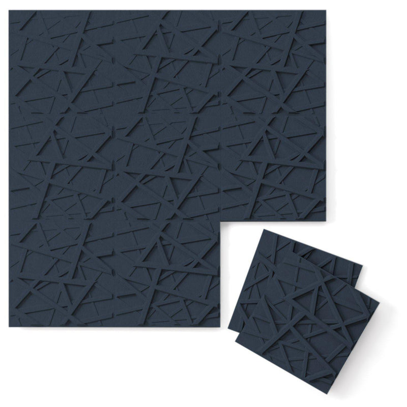 Felt 3D Wall Flats - Acoustic Panels - Hatch 3D PET Felt Wall Flats - 11 - Inhabit