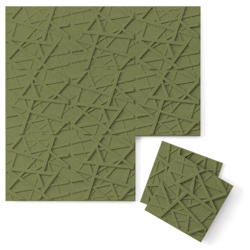 Felt 3D Wall Flats - Acoustic Panels - Hatch 3D PET Felt Wall Flats - 7 - Inhabit