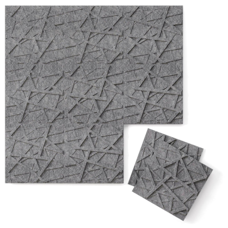 Felt 3D Wall Flats - Acoustic Panels - Hatch 3D PET Felt Wall Flats - 5 - Inhabit