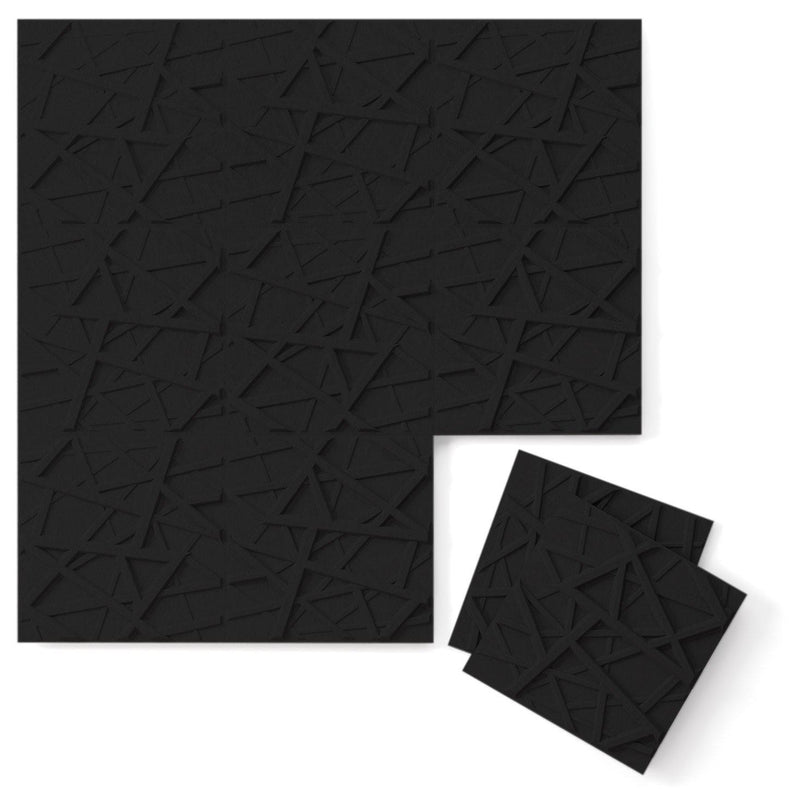 Felt 3D Wall Flats - Acoustic Panels - Hatch 3D PET Felt Wall Flats - 13 - Inhabit