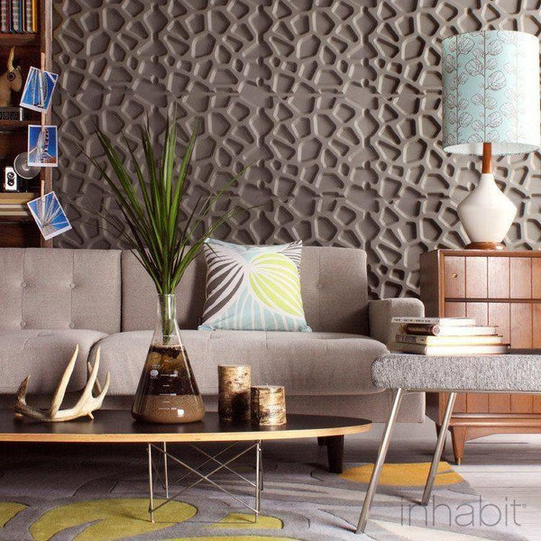 Hive Wall Flats - 3D Wall Panels - - Wall Flats - 3D Wall Panels - Inhabitliving.com - Inhabit - 1