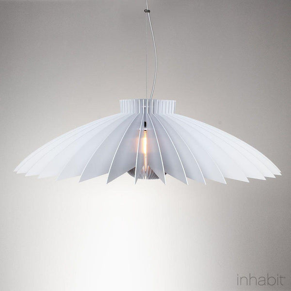 Juhl White Sculptural Pendant Light - Corrulight Ceiling Lighting - 1 - Inhabit