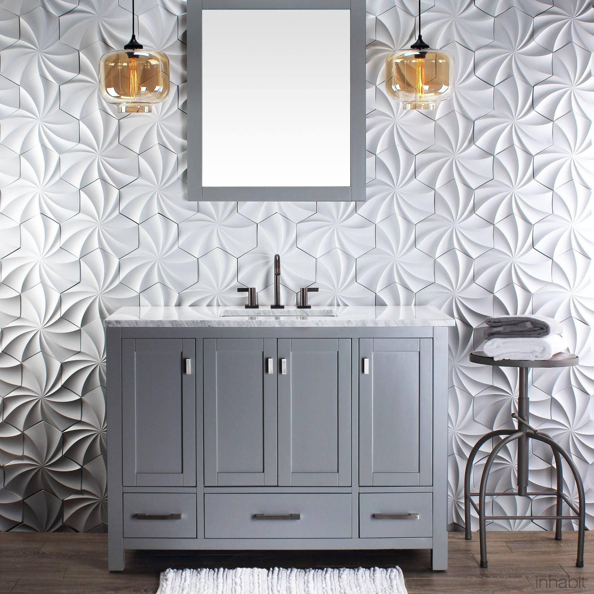 Dimensional Wall Tiles| Kaleidoscope Architectural Concrete Tile in ...