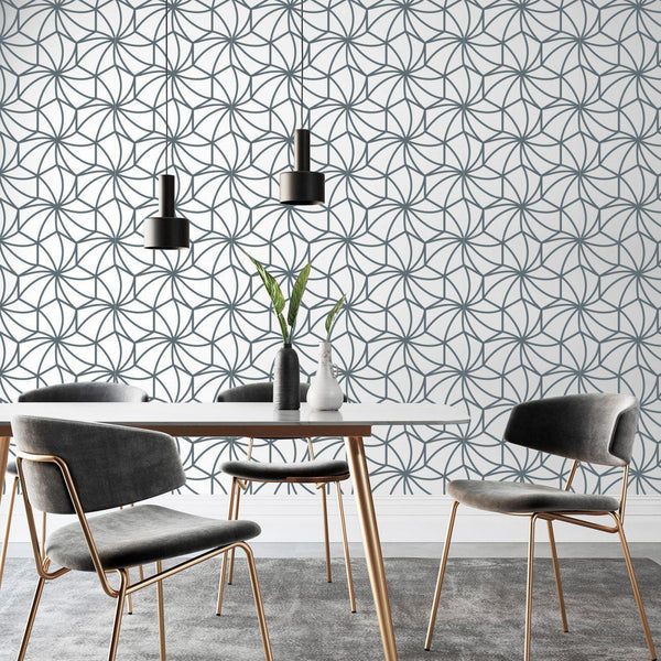 Kaleidoscope Bespoke Wallpaper - Wallpaper - Peel and Stick Wallpaper - Commercial Wallpaper - 1 - Inhabit