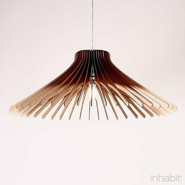 Keck Natural Sculptural Pendant Light - Corrulight Ceiling Lighting - 1 - Inhabit