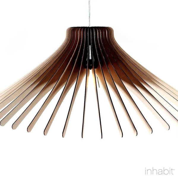 Keck Natural Sculptural Pendant Light - Corrulight Ceiling Lighting - 2 - Inhabit