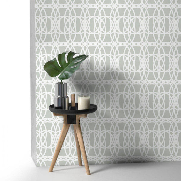 Wallpaper - Peel and Stick Wallpaper - Commercial Wallpaper - Loom Bespoke Wallpaper - 1 - Inhabit
