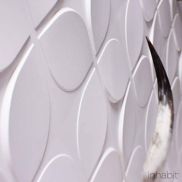 Lotus Wall Flats - 3D Wall Panels - - Wall Flats - 3D Wall Panels - Inhabitliving.com - Inhabit - 2