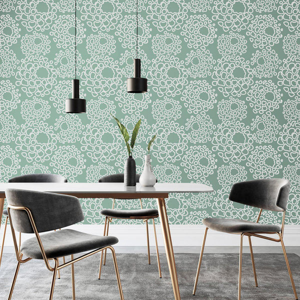 Wallpaper - Peel and Stick Wallpaper - Commercial Wallpaper - Mum Bespoke Wallpaper - 1 - Inhabit