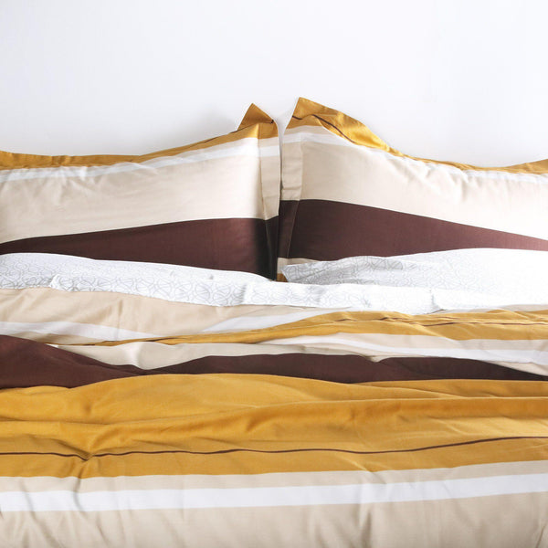 Bedding - Nourish in Amber Duvet Cover + Sham Set - 2 - Inhabit