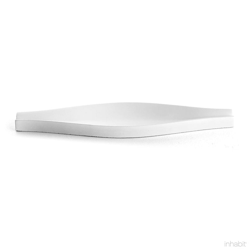 Origami Cast Architectural Concrete Tile - White-Cast Concrete Tiles-Inhabit
