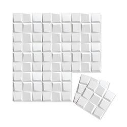 Wall Flats - 3D Wall Panels - Wall Flat Samples - Paint Ready 3D Wall Panels - 3 - Inhabit