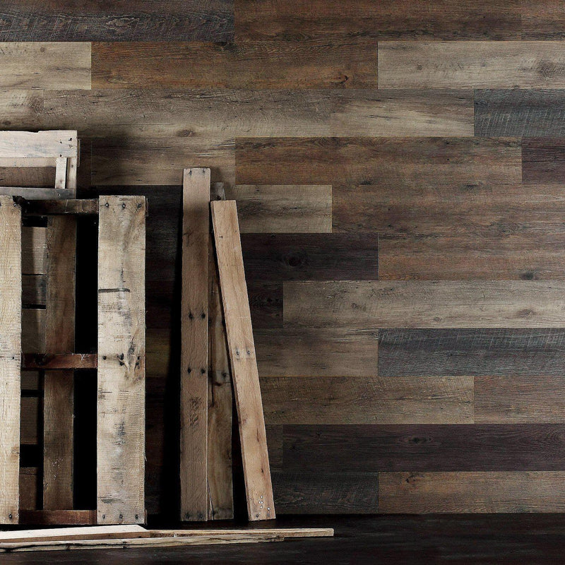 Pallet Wood Look Glue Up Wall Planks - Glue Up Planks - 3 - Inhabit