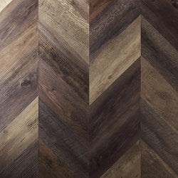 Variplank - Pallet Wood Peel + Stick Wood Look Herringbone Variplanks - 1 - Inhabit