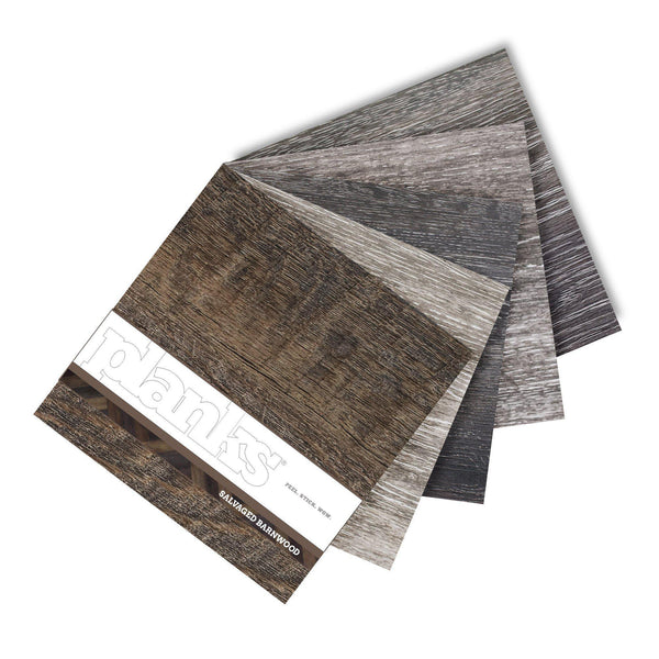 Planks - Plank Peel and Stick Wood Look Samples - 2 - Inhabit