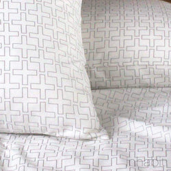 Bedding - Plus in Ivory Sheet Set - 2 - Inhabit