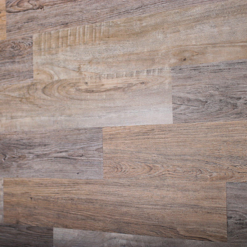 Planks - Reclaimed Driftwood Look Peel and Stick Wall Planks - 6 - Inhabit