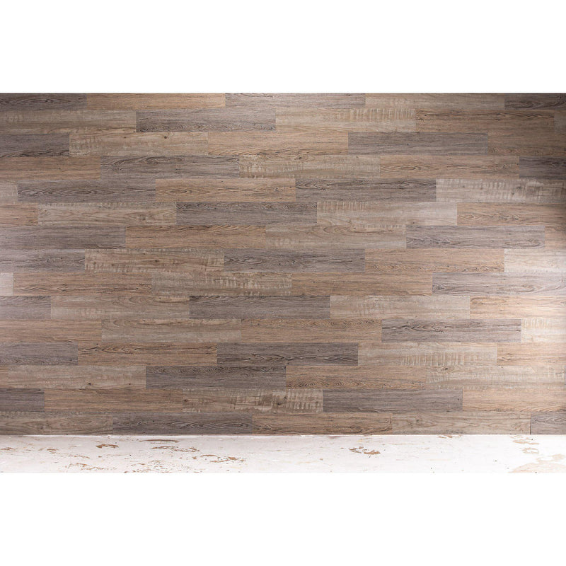 Planks - Reclaimed Driftwood Look Peel and Stick Wall Planks - 8 - Inhabit