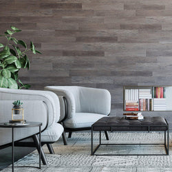 Planks - Reclaimed Gray Oak Wood Look Peel and Stick Wall Planks - 3 - Inhabit