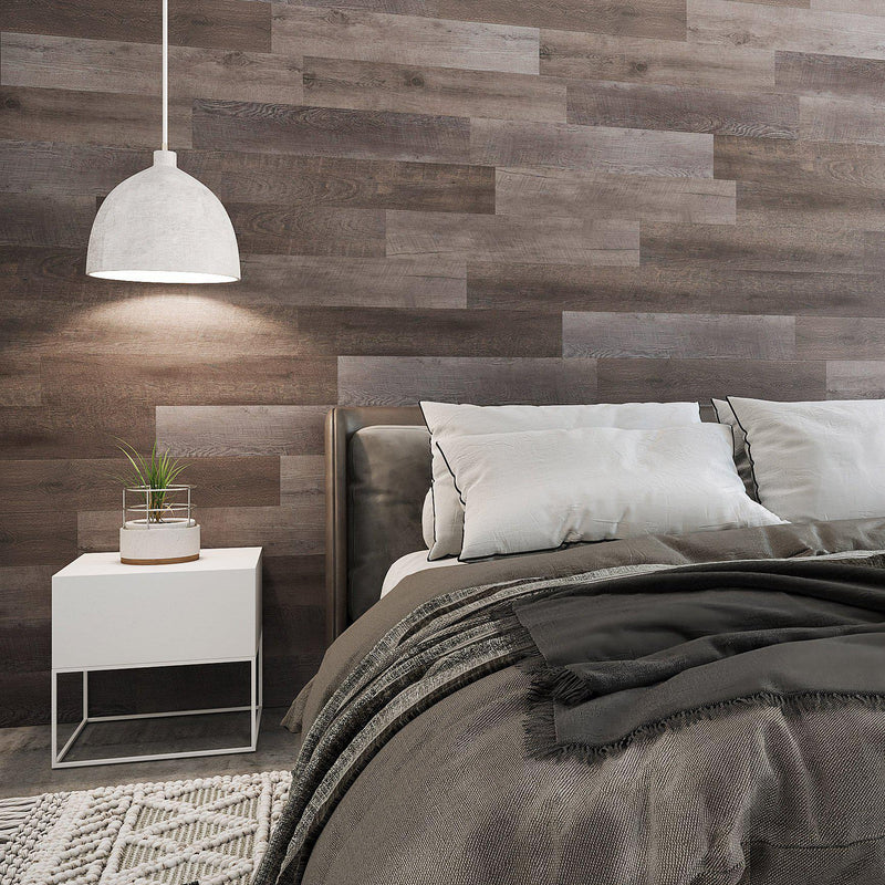 Planks - Reclaimed Wood Look Peel and Stick Wall Planks - 3 - Inhabit