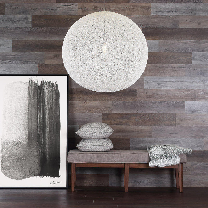 Planks - Reclaimed Wood Look Peel and Stick Wall Planks - 4 - Inhabit
