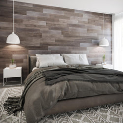 Planks - Reclaimed Wood Look Peel and Stick Wall Planks - 2 - Inhabit