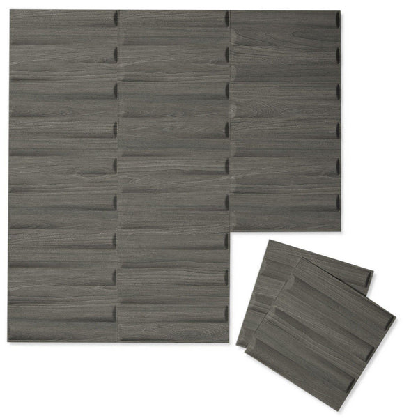 Luxe Supermatte Wall Flats - 3D Wall Panels - Seesaw 3D Luxe Wall Flats - 1 - Inhabit