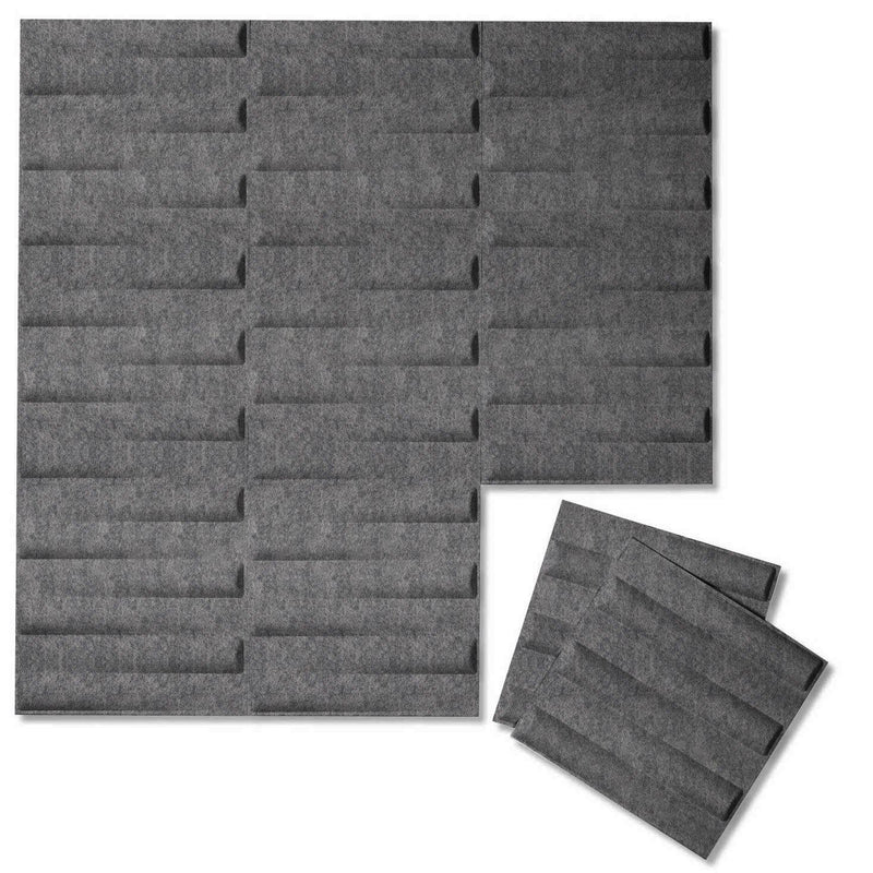 Felt 3D Wall Flats - Acoustic Panels - Seesaw 3D PET Felt Wall Flats - 5 - Inhabit