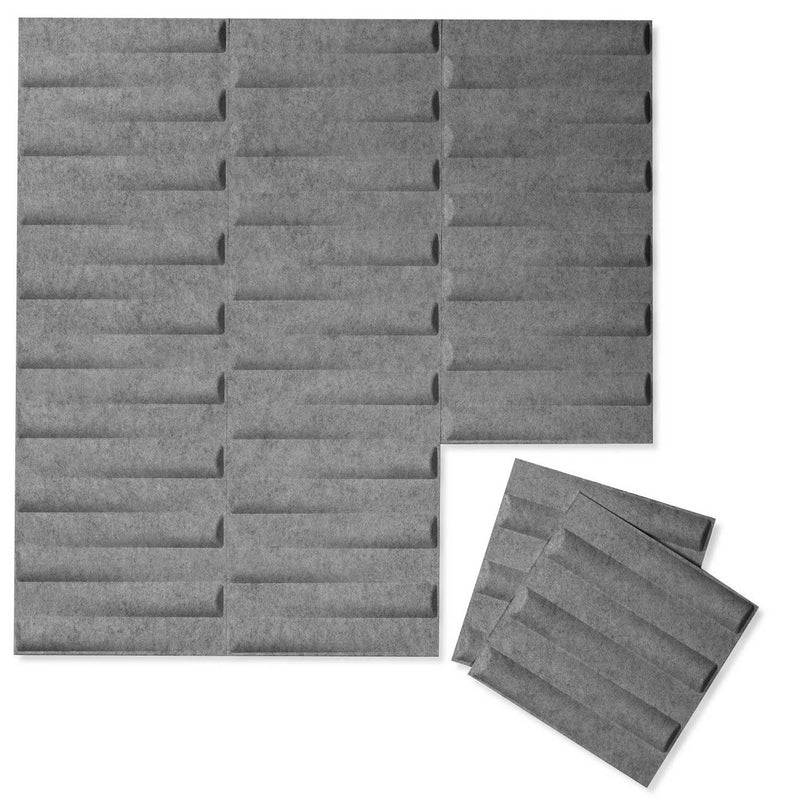 Felt 3D Wall Flats - Acoustic Panels - Seesaw 3D PET Felt Wall Flats - 3 - Inhabit
