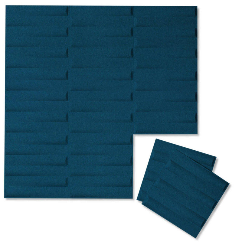 Felt 3D Wall Flats - Acoustic Panels - Seesaw 3D PET Felt Wall Flats - 9 - Inhabit