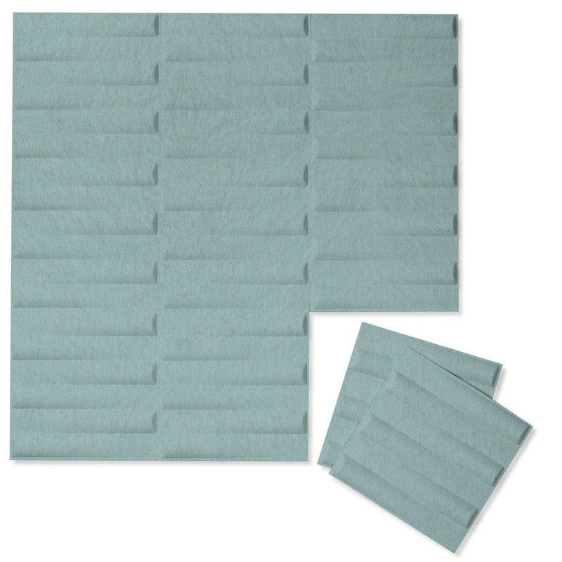 Felt 3D Wall Flats - Acoustic Panels - Seesaw 3D PET Felt Wall Flats - 7 - Inhabit