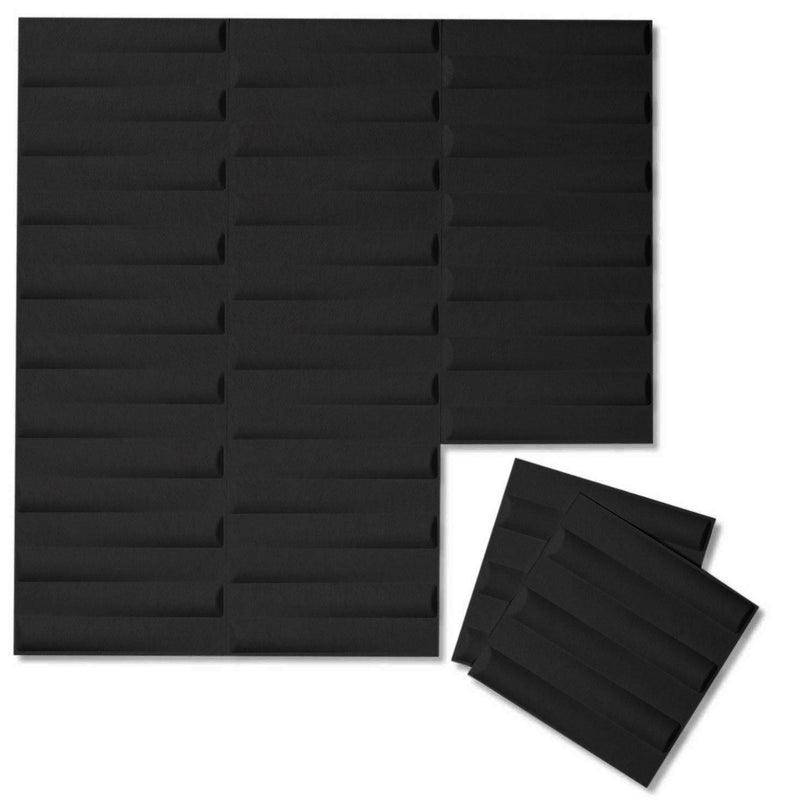 Felt 3D Wall Flats - Acoustic Panels - Seesaw 3D PET Felt Wall Flats - 13 - Inhabit