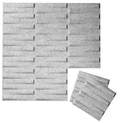 Felt 3D Wall Flats - Acoustic Panels - Seesaw 3D PET Felt Wall Flats - 1 - Inhabit