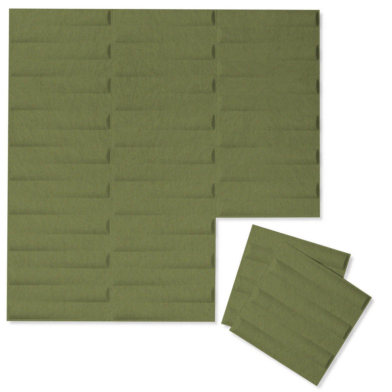 Felt 3D Wall Flats - Acoustic Panels - Seesaw 3D PET Felt Wall Flats - 6 - Inhabit