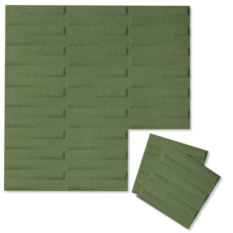 Felt 3D Wall Flats - Acoustic Panels - Seesaw 3D PET Felt Wall Flats - 10 - Inhabit