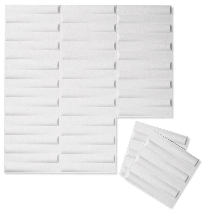 Felt 3D Wall Flats - Acoustic Panels - Seesaw 3D PET Felt Wall Flats - 12 - Inhabit