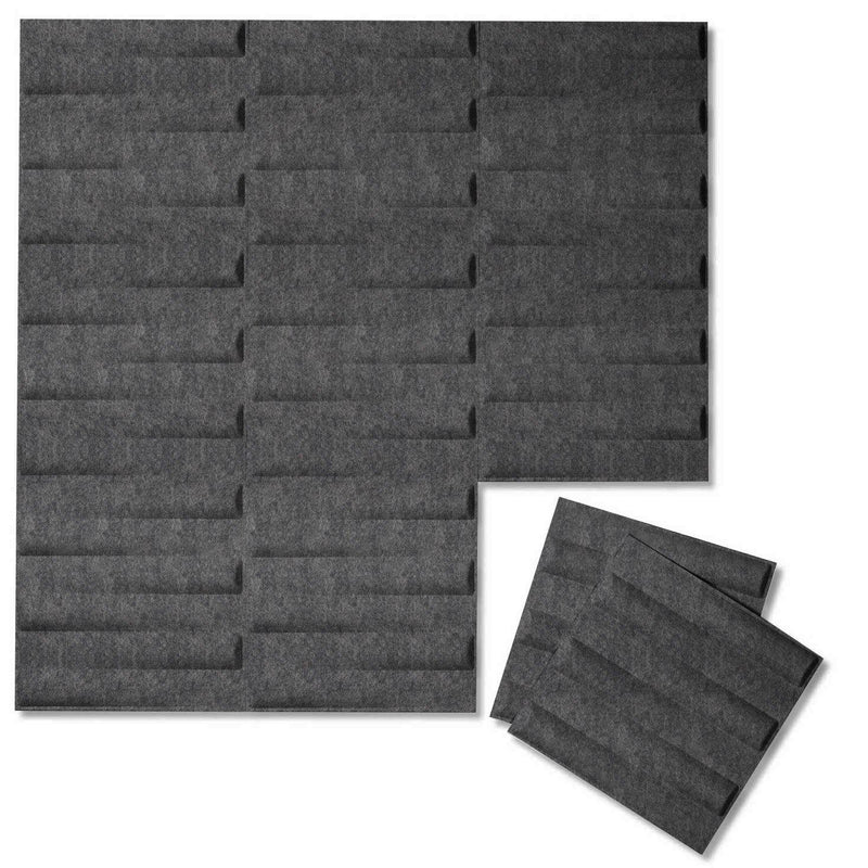 Felt 3D Wall Flats - Acoustic Panels - Seesaw 3D PET Felt Wall Flats - 4 - Inhabit