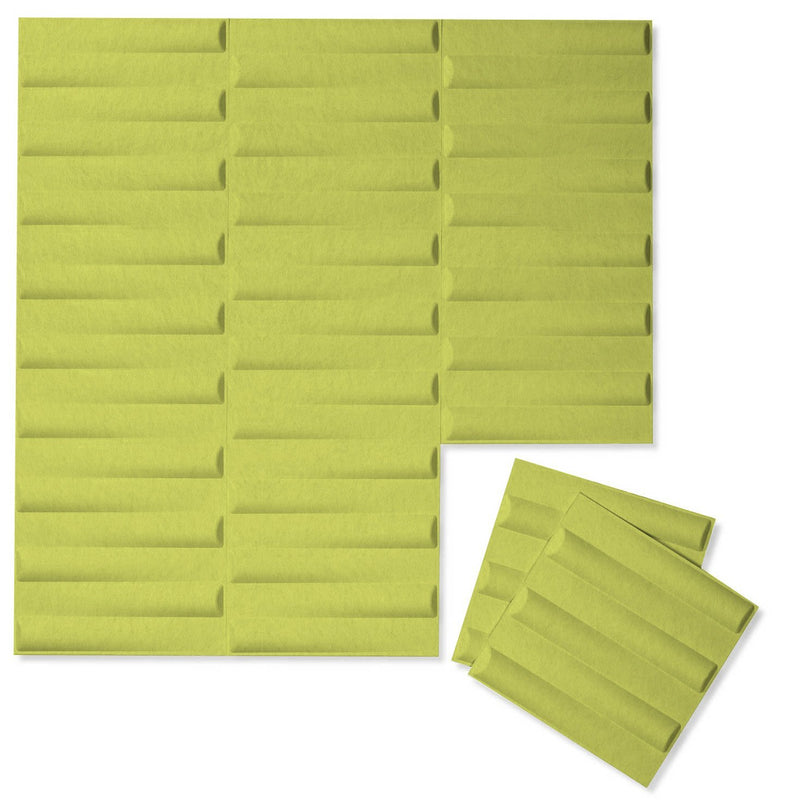Felt 3D Wall Flats - Acoustic Panels - Seesaw 3D Wool Felt Wall Flats - 14 - Inhabit