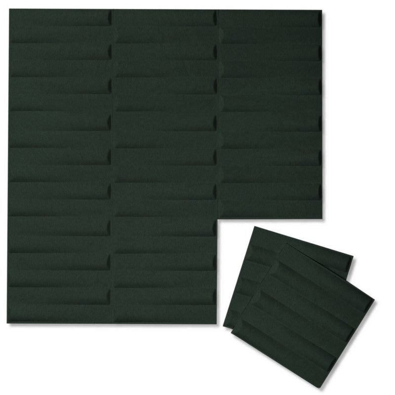 Felt 3D Wall Flats - Acoustic Panels - Seesaw 3D Wool Felt Wall Flats - 9 - Inhabit
