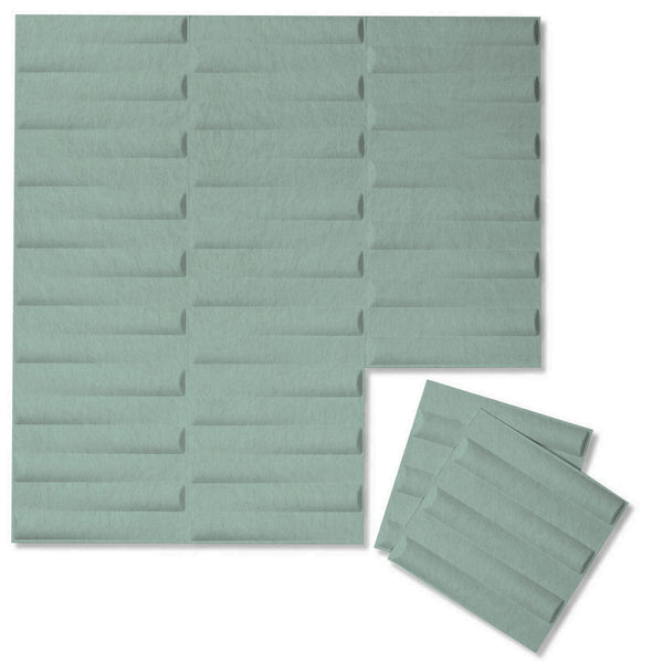 Felt 3D Wall Flats - Acoustic Panels - Seesaw 3D Wool Felt Wall Flats - 1 - Inhabit