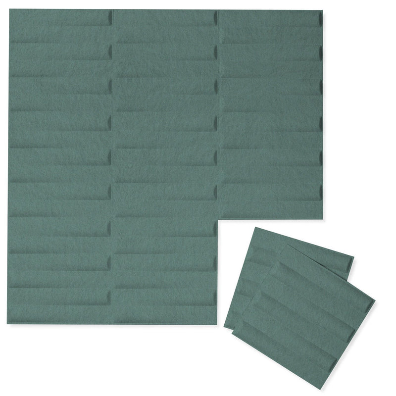 Felt 3D Wall Flats - Acoustic Panels - Seesaw 3D Wool Felt Wall Flats - 6 - Inhabit