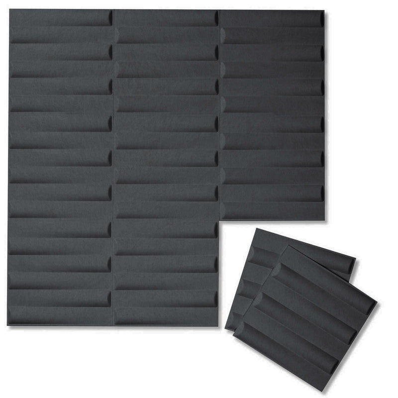 Felt 3D Wall Flats - Acoustic Panels - Seesaw 3D Wool Felt Wall Flats - 5 - Inhabit