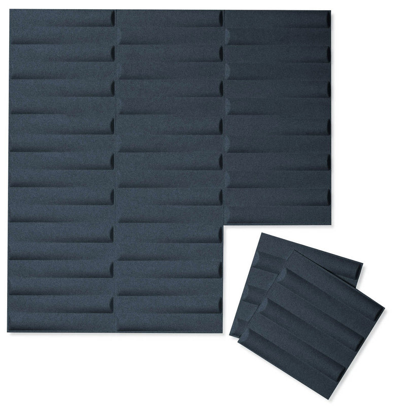 Felt 3D Wall Flats - Acoustic Panels - Seesaw 3D Wool Felt Wall Flats - 8 - Inhabit