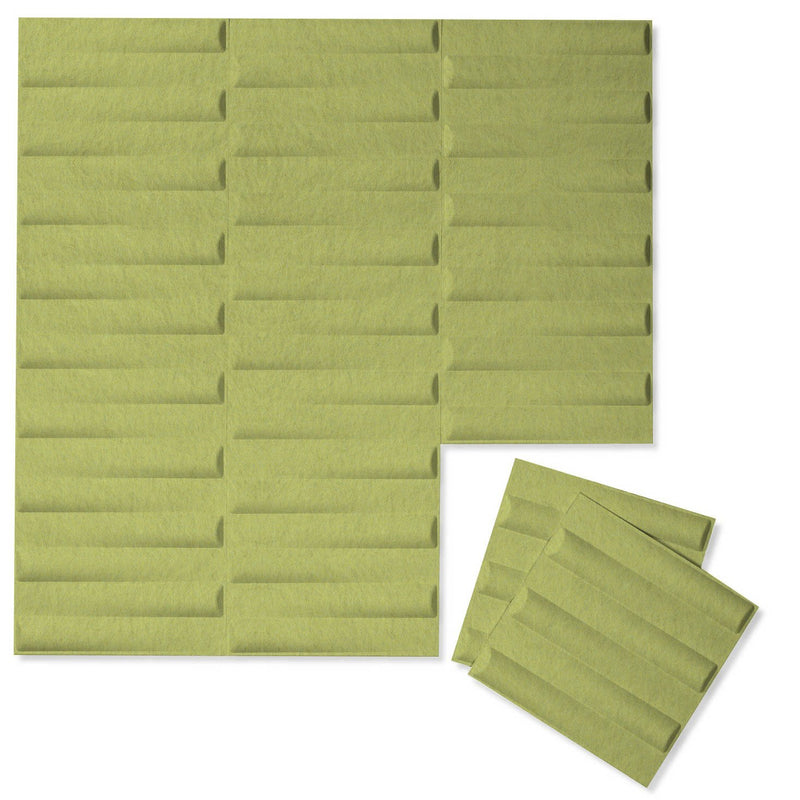 Felt 3D Wall Flats - Acoustic Panels - Seesaw 3D Wool Felt Wall Flats - 13 - Inhabit