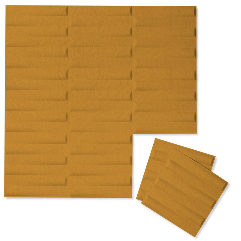 Felt 3D Wall Flats - Acoustic Panels - Seesaw 3D Wool Felt Wall Flats - 10 - Inhabit